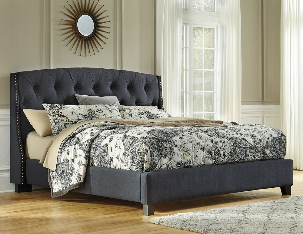 Picture of Queen Upholstered Bed Set