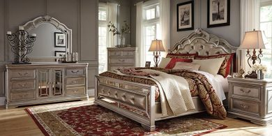 Birlanny Upholstered King Bedroom Set