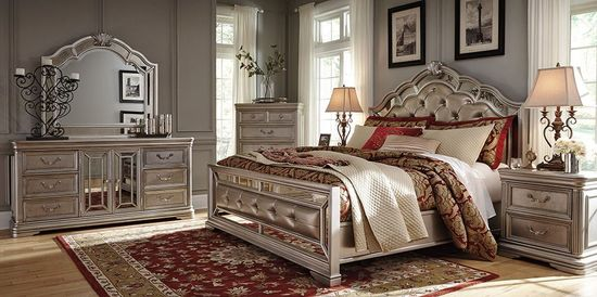 Picture of Birlanny Upholstered King Bedroom Set