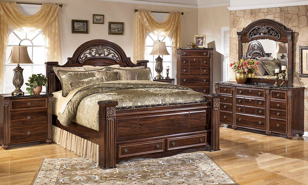 Picture of Gabriela King Storage Bedroom Set