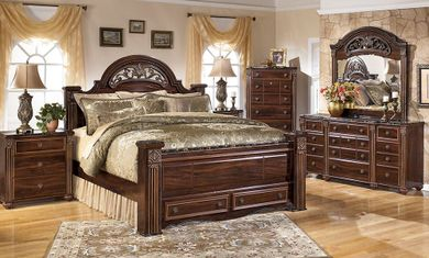 Gabriela King Storage Bedroom Set