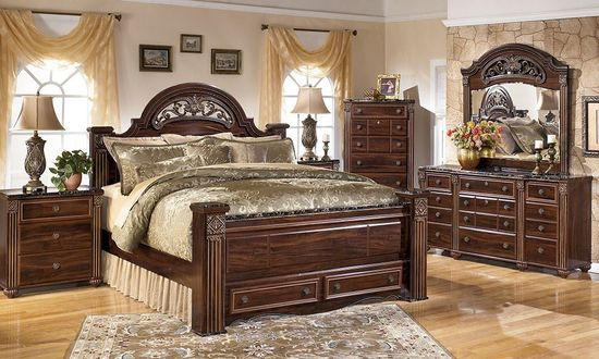 Picture of Gabriela Queen Storage Bedroom Set