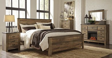 Trinell King Panel Bedroom Set
