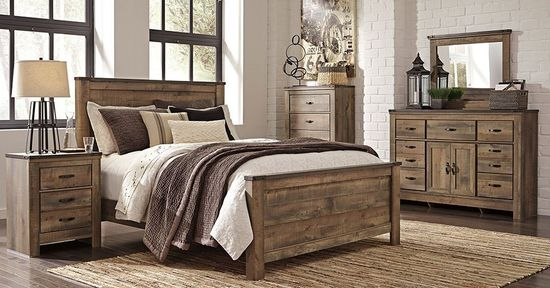 Trinell Queen Panel Bedroom Set Unclaimed Freight Furniture