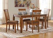 Berringer 60 Inch Hickory Table With Four Chairs