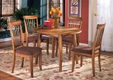 Berringer Drop Leaf Table With Four Chairs