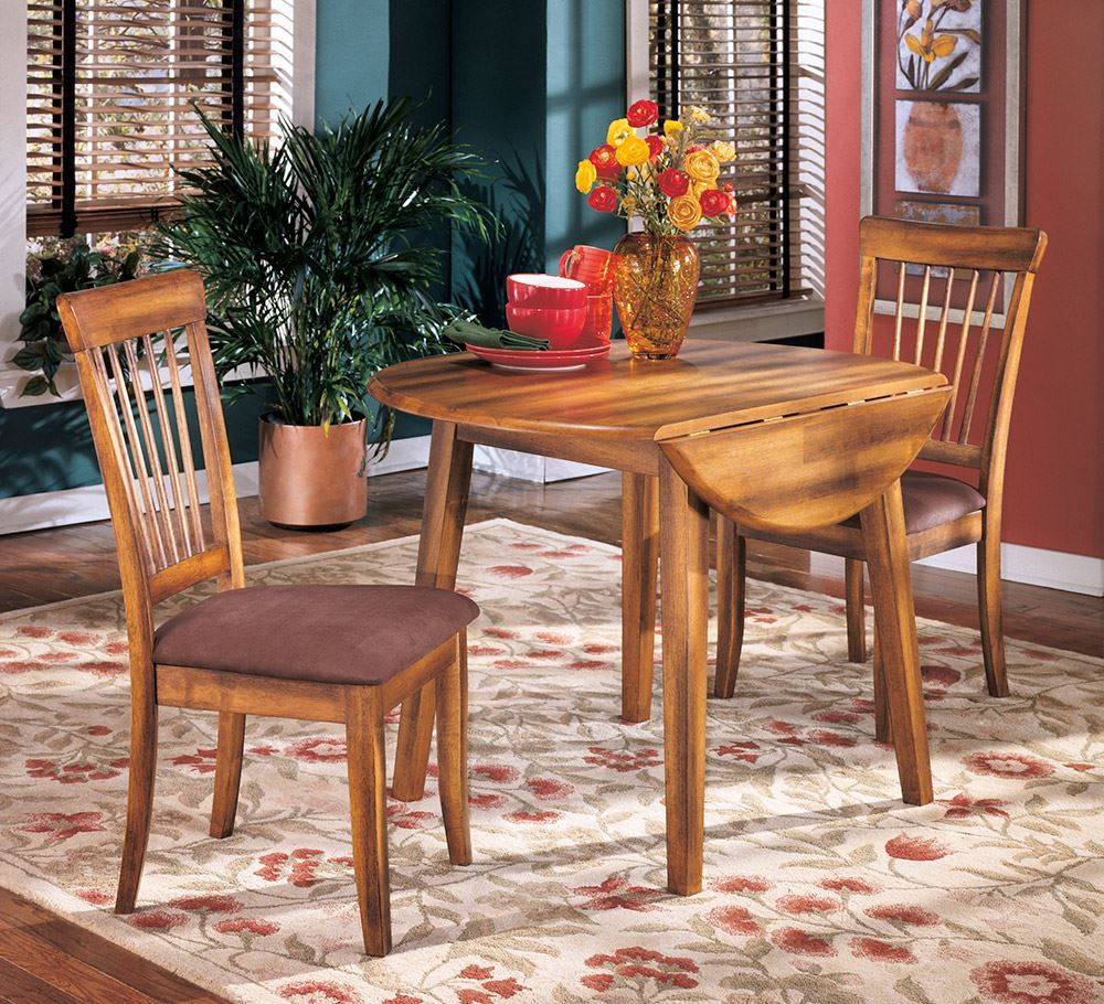 Picture of Berringer Drop Leaf Table With Two Chairs