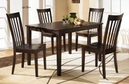 Hyland Rectangle Table With Four Chairs