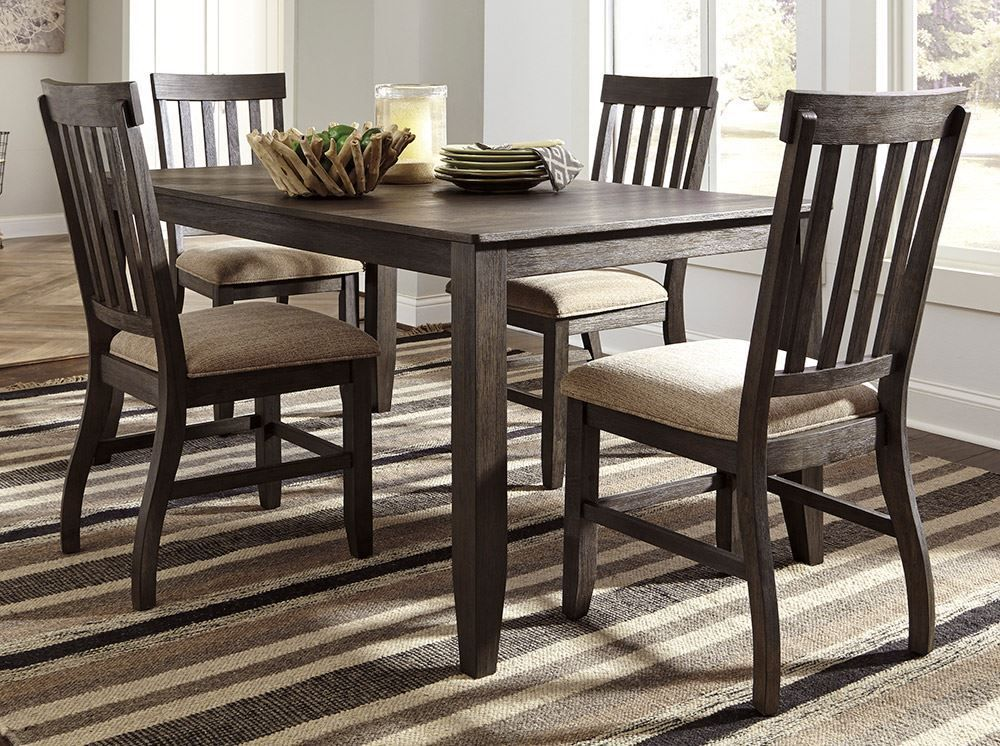 Picture of Dresbar Dining Table with Four Side Chairs