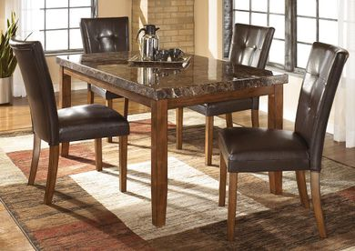 Lacey Table with Four Side Chairs