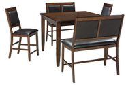 Meredy Five Piece Counter Height Dining Set