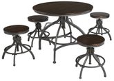 Odium Adjustable Dining Table with Four Stools