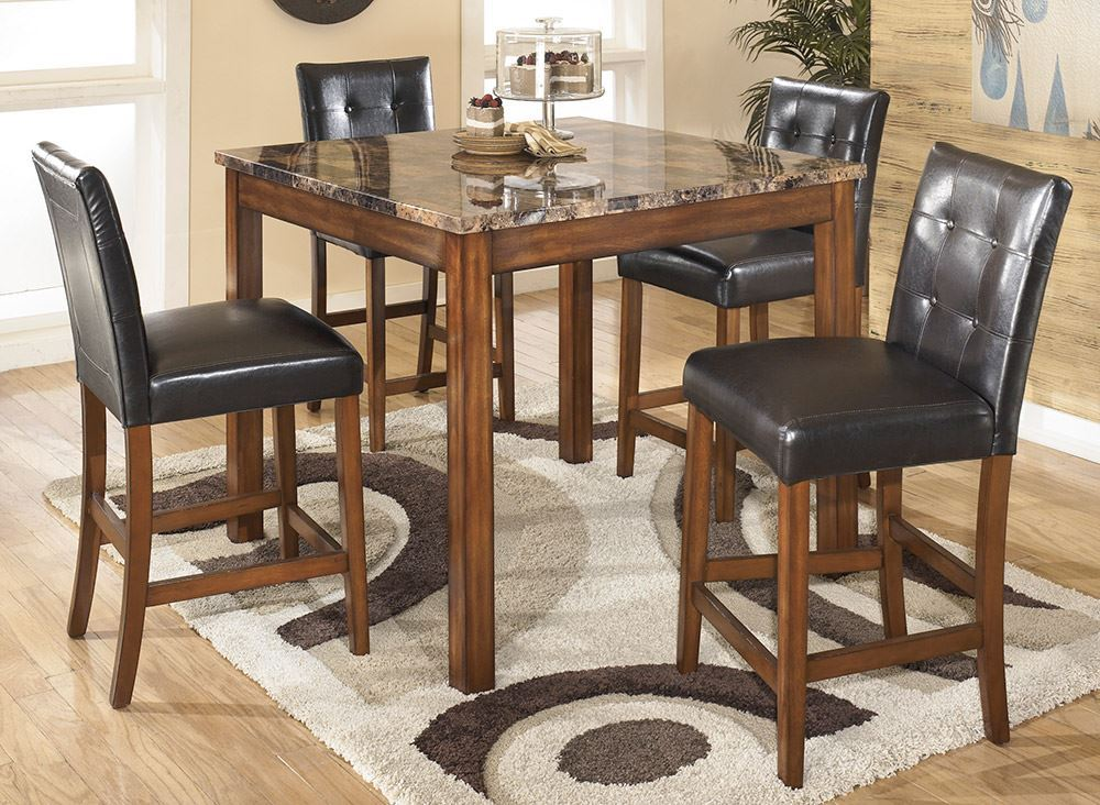 Picture of Theo Counter Table with Four Stools