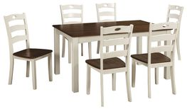 Woodanville Table Six Chair Set