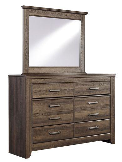 Juararo Youth Dresser and Mirror Set