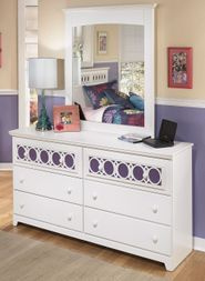 Zayley Dresser with Mirror