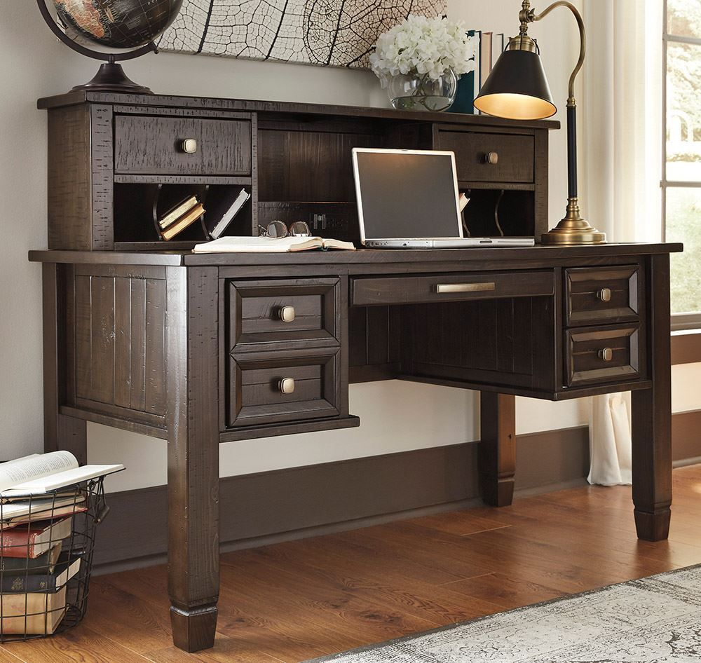 Picture of Townser Office Desk and Hutch