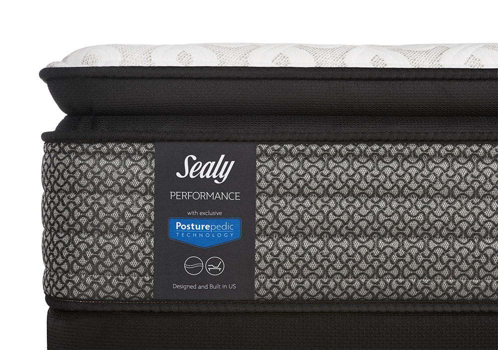 Picture of Sealy Response Kenaston Cushion Firm Pillowtop Full Ease Adjustable Foundation Set