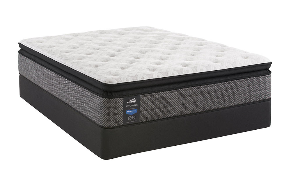 Picture of Sealy Response Kenaston Plush Pillowtop King StableSupport Low Profile Foundation