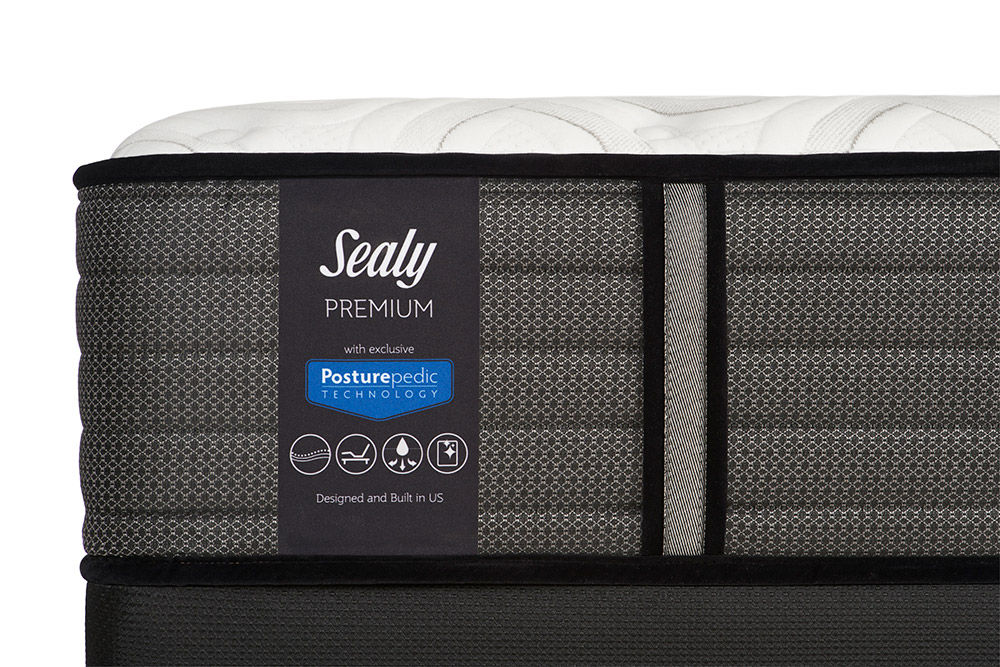 Picture of Sealy Response Spensley Cushion Firm TightTop Twin XL Ease Adjustable Foundation Set