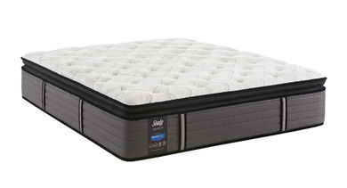 Sealy Response Spensley Plush PillowTop Queen StableSupport Low Profile Foundation