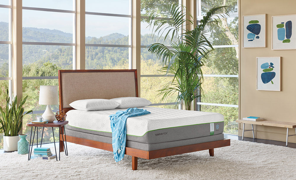 Picture Of Tempur Pedic Flex Supreme Breeze King Mattress