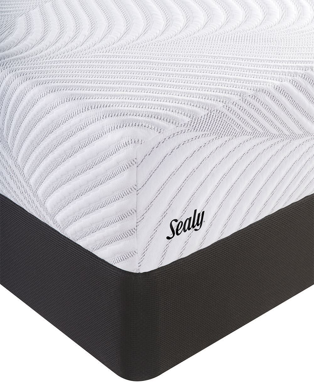 Picture of Sealy Conform Optimistic Plush King StableSupport Low Profile Foundation