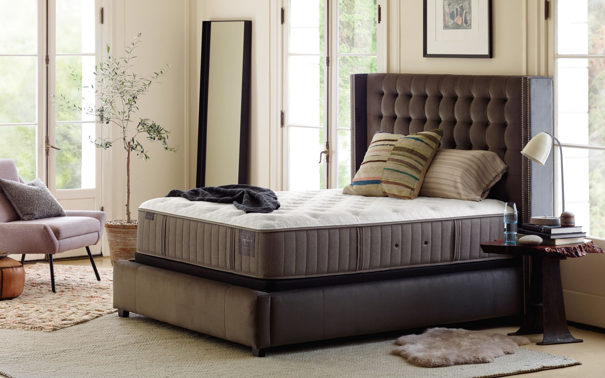 Picture of Stearns & Foster Scarborough Plush Pillowtop Queen Mattress Only