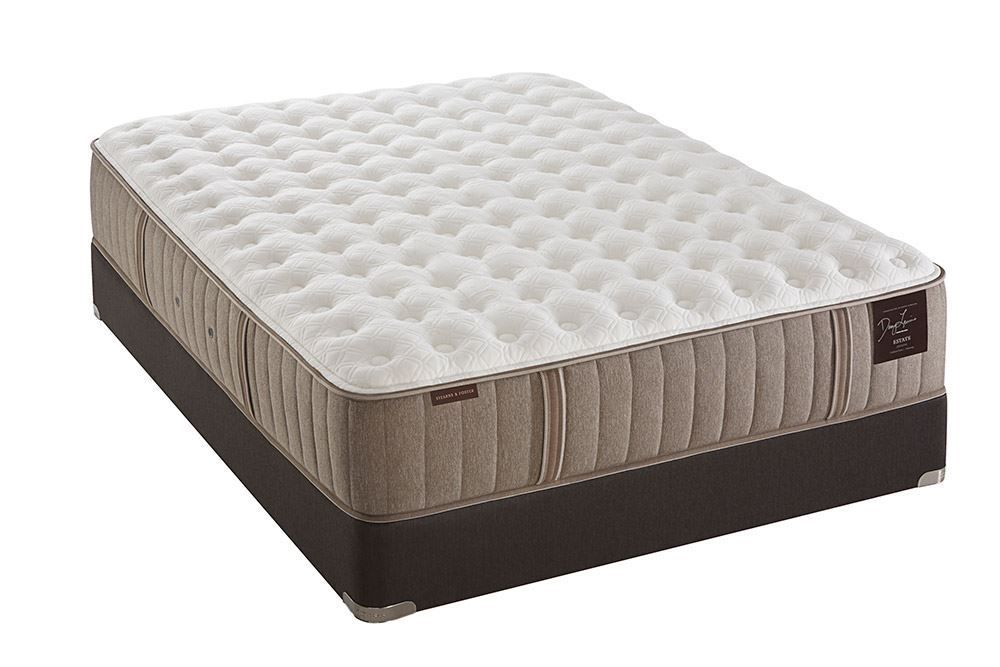Picture of Stearns & Foster Scarborough Plush Pillowtop King Flat Foundation Set