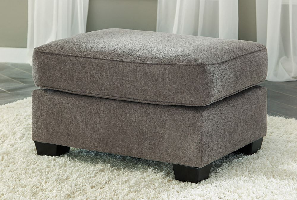 Picture of Gilman Charcoal Ottoman