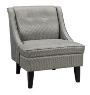 Gilman Pewter Accent Chair