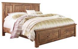 Blainville King Storage Bed Set