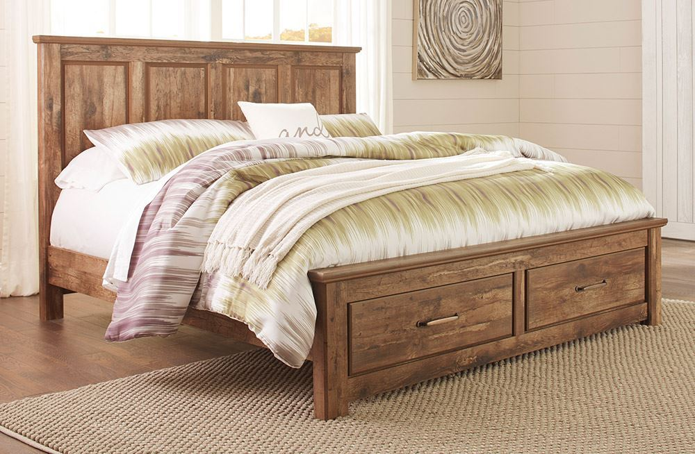 Picture of Blainville King Storage Bed Set