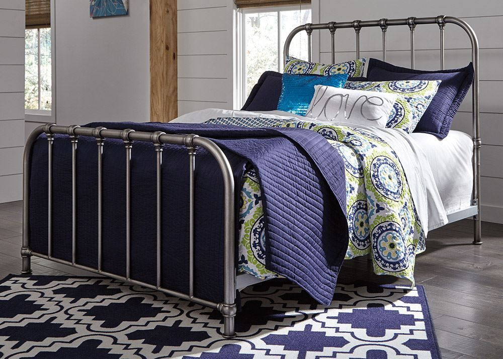 Picture of Nashburg Twin Metal Bed Set Set