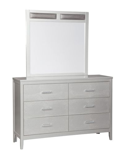 Olivet Dresser and Mirror Set