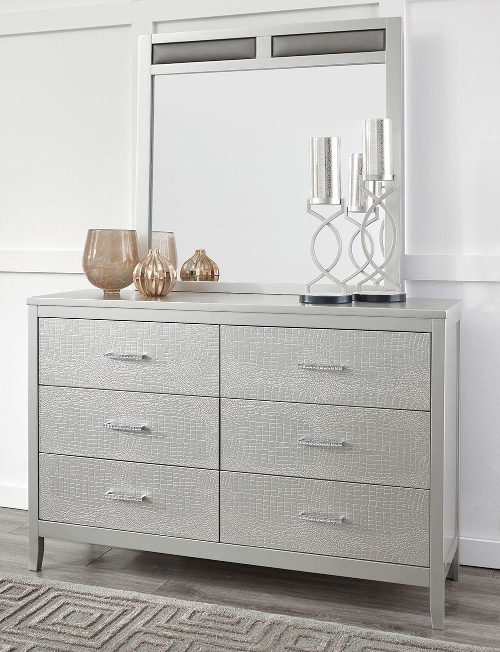 Picture of Olivet Dresser and Mirror Set