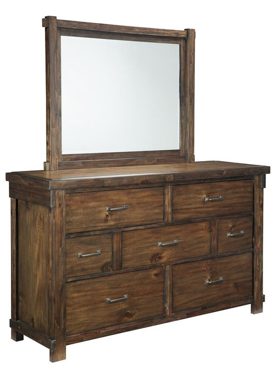 Picture of Lakeleigh Dresser and Mirror Set