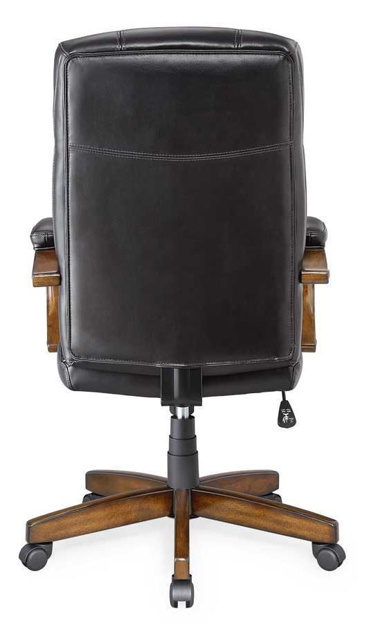 Picture of Black Leather Chair