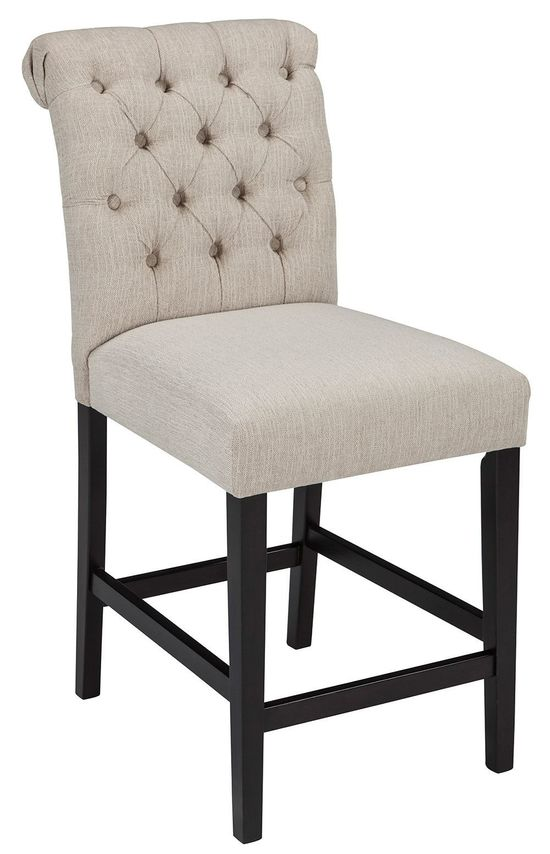 Picture of Tripton Linen Upholstery Stool