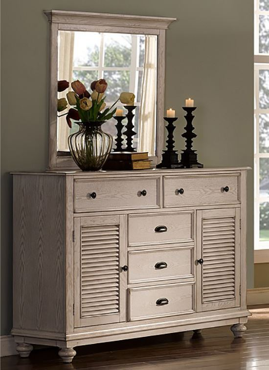 Picture of Lakeport Driftwood Dresser and Mirror