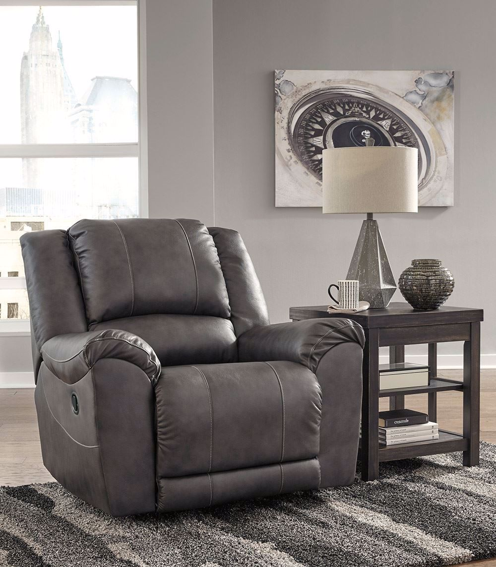 Picture of Persiphone Charcoal Rocker Recliner
