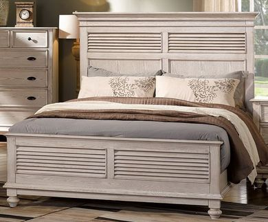 Langford Driftwood King Bed Set