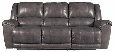 Persiphone Charcoal Reclining Sofa