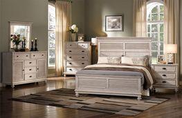 Lakeport Driftwood King Bedroom Set