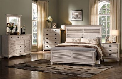 Lakeport Driftwood King Bedroom Set