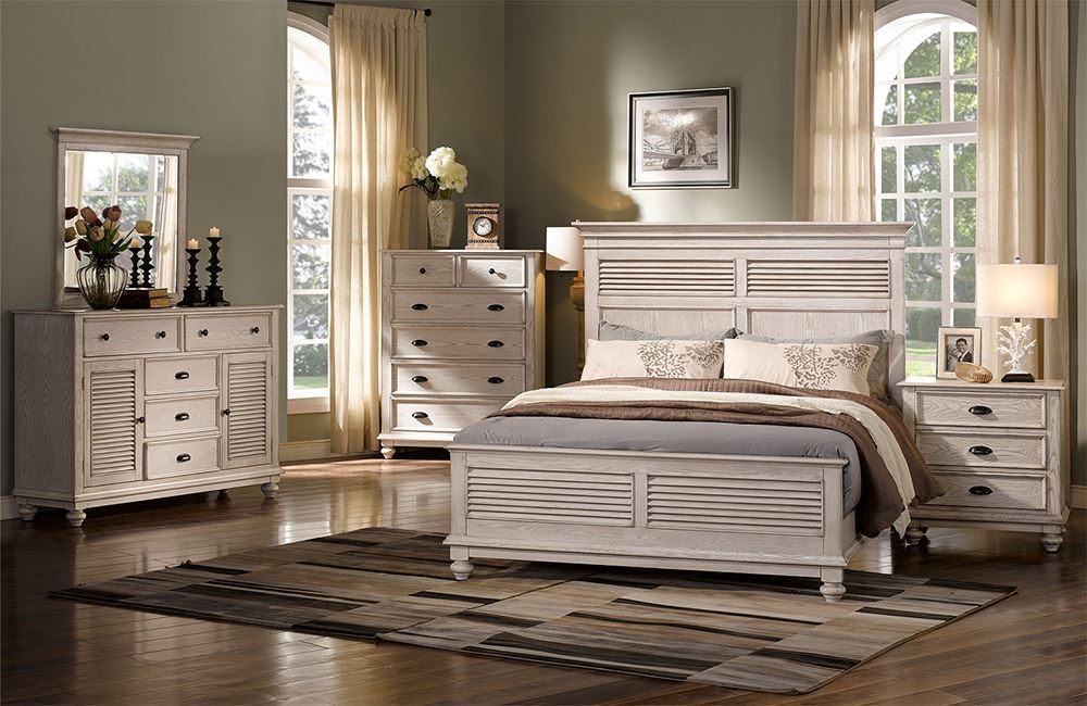 Picture of Lakeport Driftwood Queen Bed Set