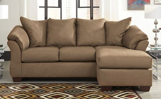 Magnificent Darcy Mocha Sofa Chaise Home Remodeling Inspirations Basidirectenergyitoicom