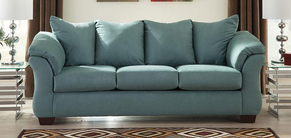 Darcy Sky Sofa The Furniture Mart