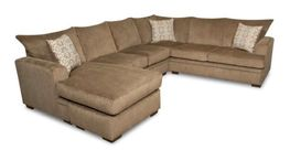Cornell Cocoa Two Piece Sectional
