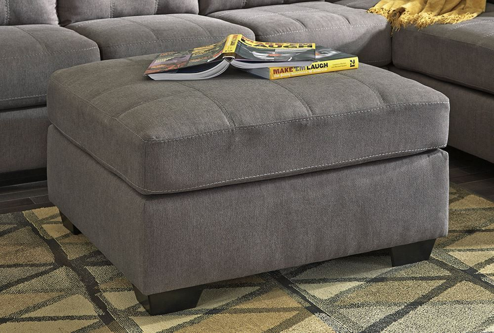 Picture of Maier Charcoal Accent Ottoman